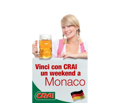 vinci weekend a Monaco con CRAI