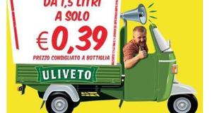 Acqua Uliveto a 39 centesimi per il Mese della Digestione