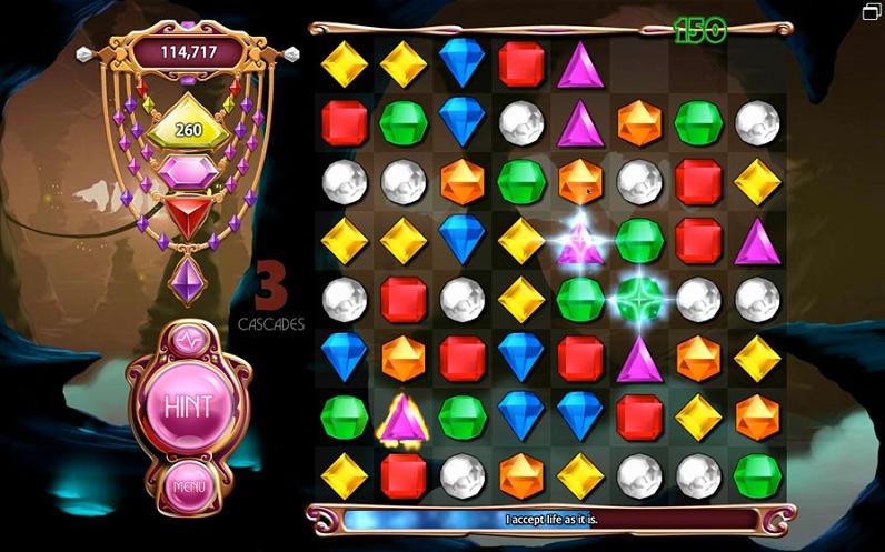 Bejeweled 3: download gratis con Offre la Ditta