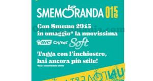 Bic Cristal Soft omaggio con Smemoranda