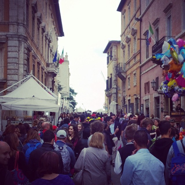 Eurochocolate Perugia 2014