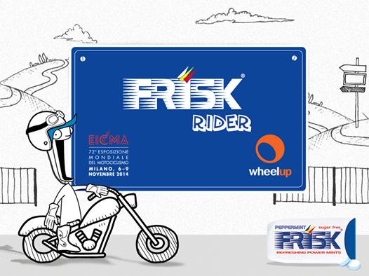 Frisk Rider - vinci EICMA o coupon WheelUp