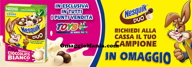 Nesquik Duo omaggio da Toys Center