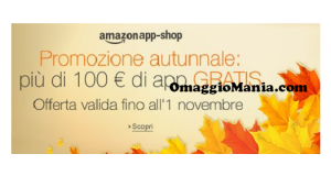 Oltre 100 euro di app gratis su Amazon App-Shop