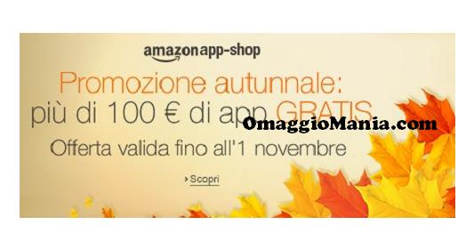 Oltre 100 euro di app gratis su Amazon App-Shop
