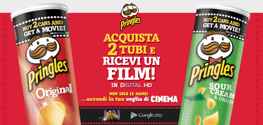 Pringles Movie Night - film gratis
