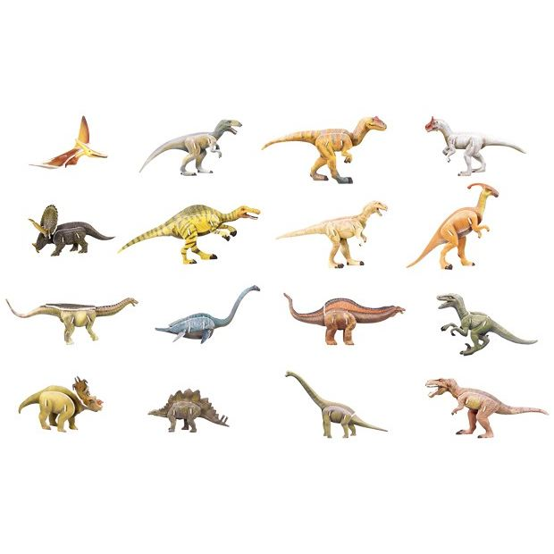 Puzzle 3D dinosauri omaggio