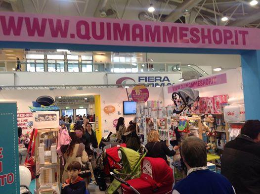 QuiMammeShop a Bimbinfiera