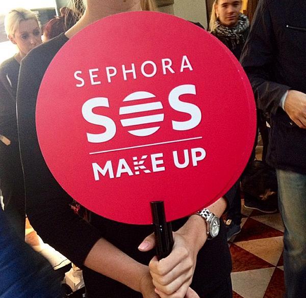 SOS Sephora flash make up gratis