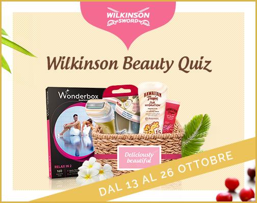Wilkinson Beauty Quiz