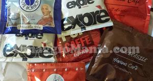 campioncini omaggio caffè ricevuti da Roberta