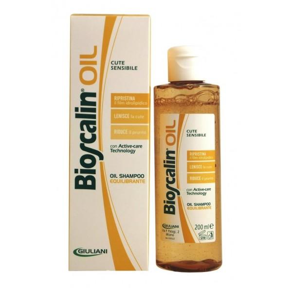 campione omaggio Bioscalin Shampoo Oil