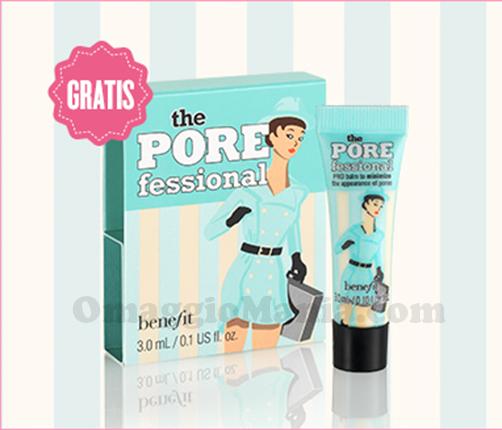 campione omaggio POREfessional Benefit Cosmetics