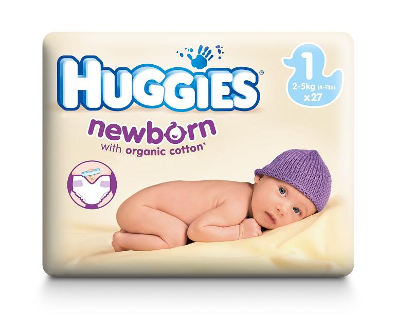 campioni omaggio pannolini Huggies Newborn