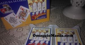 carte da gioco Modiano con Zafferano 3 Cuochi