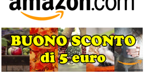 coupon Amazon 5 euro autunno