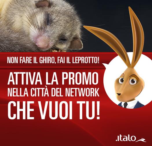 coupon Italo Treno fino al 20%