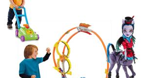 coupon Mattel Fisher Price, Monster Hight, Hot Wheels