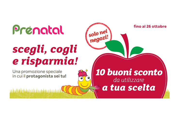 coupon Prénatal fino al 30%