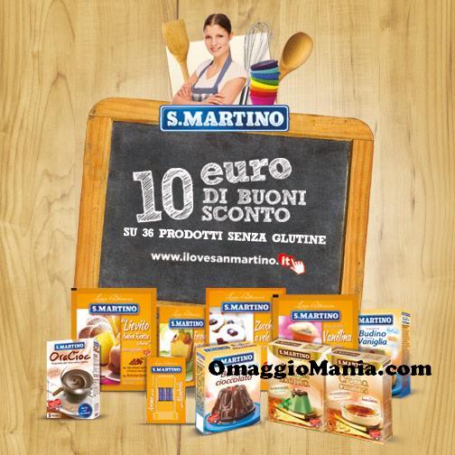 coupon prodotti senza glutine S.Martino