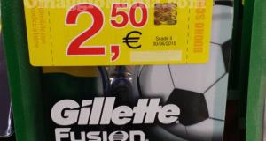coupon rasoio Gillette Fusion Pro Glide