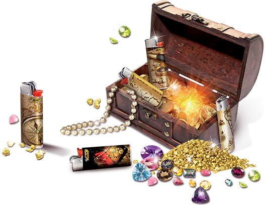 gioca e vinci un tesoro con BIC