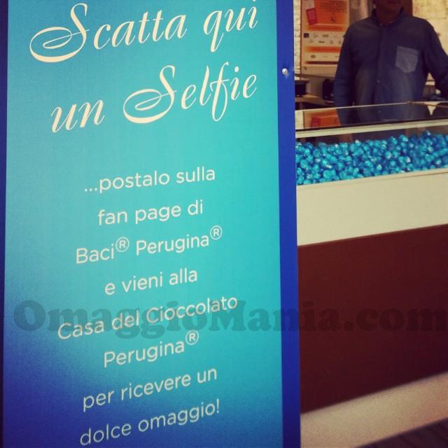 omaggio Baci Perugina da Eurochocolate Perugia 2014