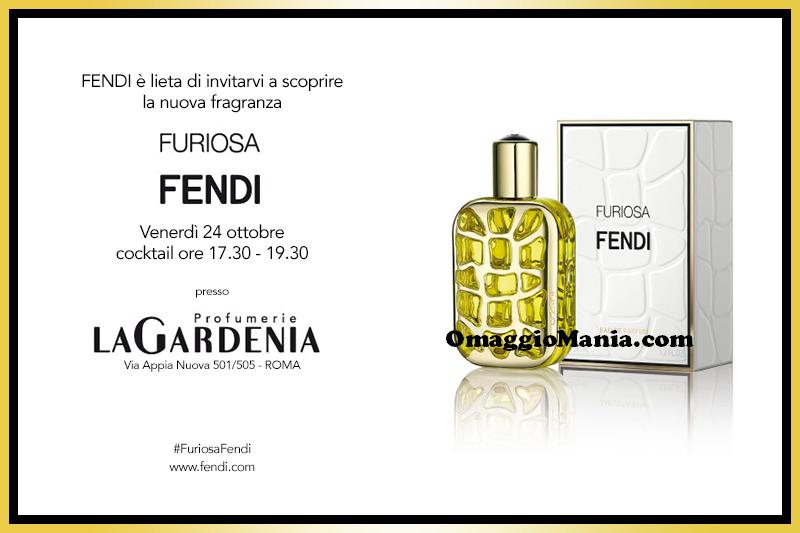 omaggio Furiosa Fendi da Profumerie La Gardenia a Roma
