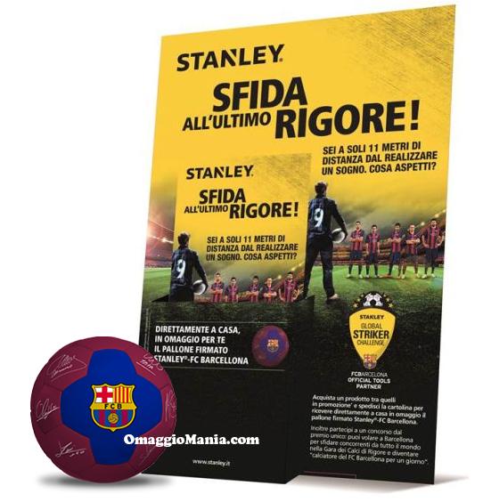 pallone omaggio da Stanley