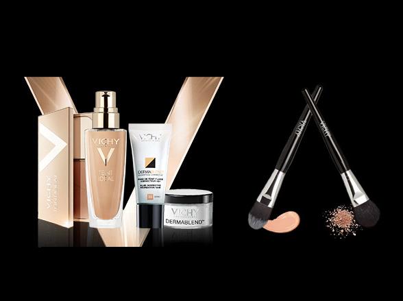 pennello make-up omaggio da Vichy