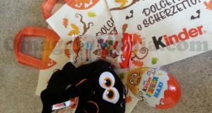 shopper Halloween omaggio da Kinder