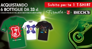 t-shirt Beck's omaggio