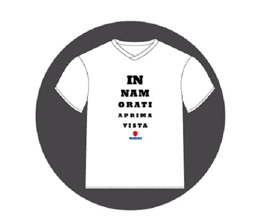t-shirt gratis da Suzuki