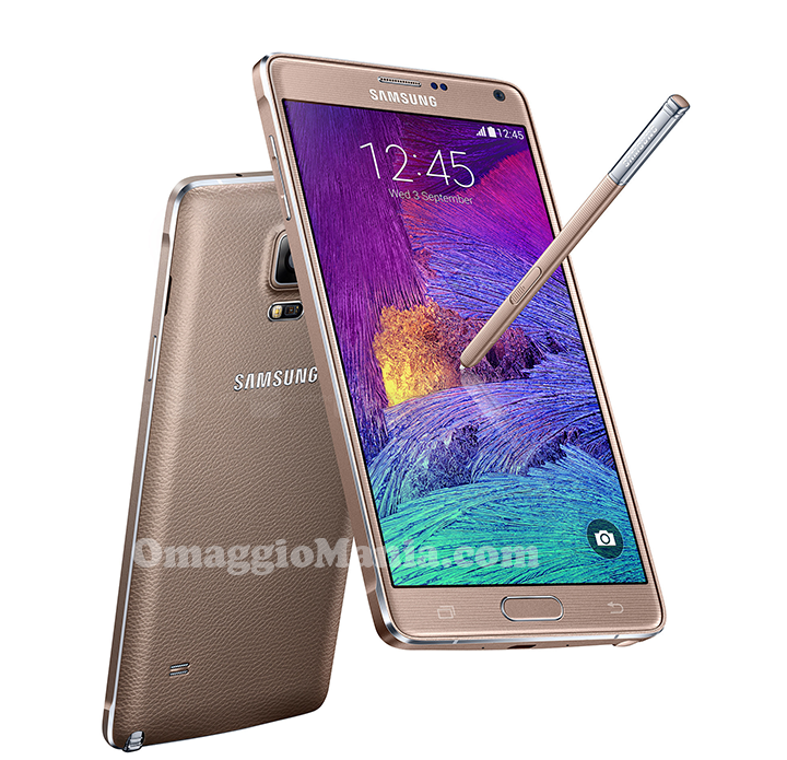 vinci Samsung Galaxy Note 4 con Wind