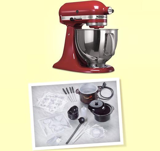 vinci cioccolatiera o robot da cucina KitchenAid con Love Bakery