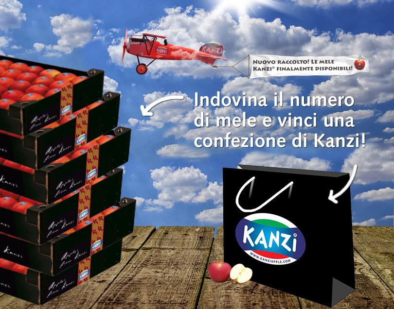 vinci confezione di mele Kanzi