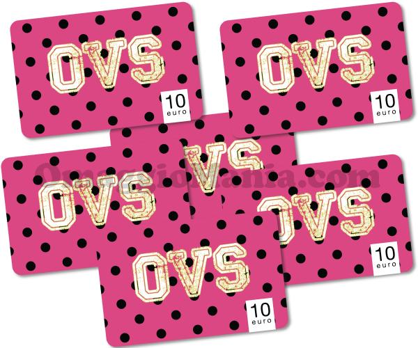 vinci coupon OVS da 1.000 euro