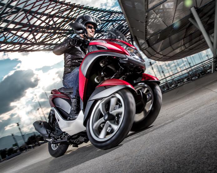 vinci scooter Tricity Yamaha