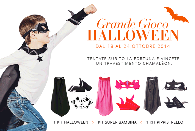 vinci travestimento Halloween con Smallable