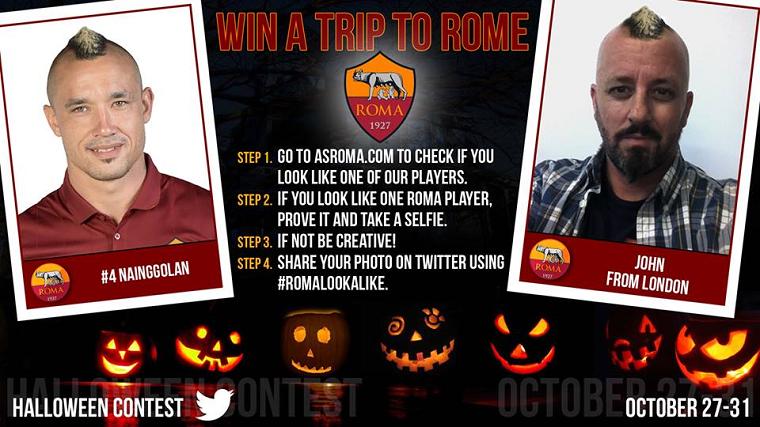 vinci viaggio a Roma con #RomaLookAlike