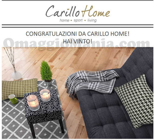 vincita federa cuscino Carillo Home