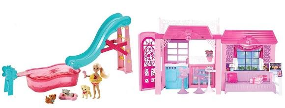 Barbie Casa Glam piu Piscina dei Cuccioli