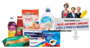 Carrefour ti regala Il ricco, il povero e il maggiordomo