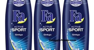 Diventa tester doccia gel FA Active Sport