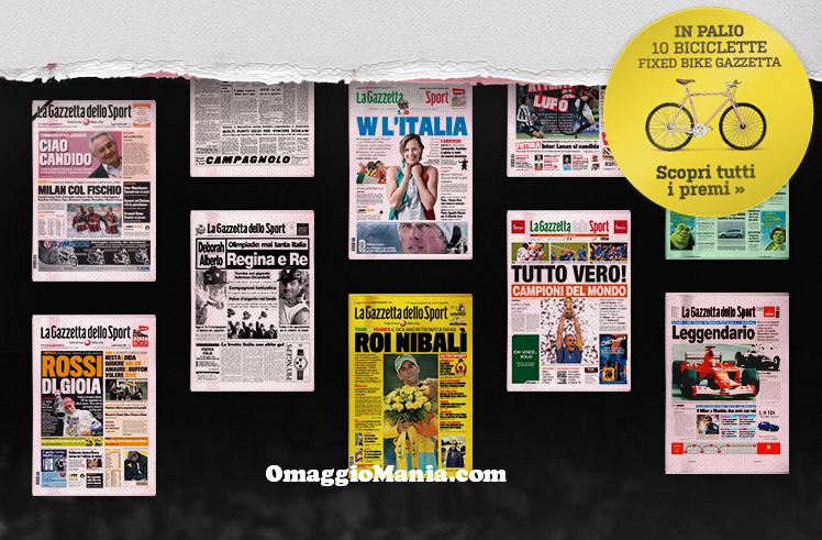 Emozioni in prima pagina Gazzetta.it