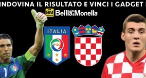 Italia-Croazia indovina il risultato e vinci gadget di Radio Bellla&Monella
