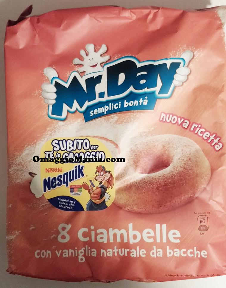 Nesquik omaggio con Mr.Day