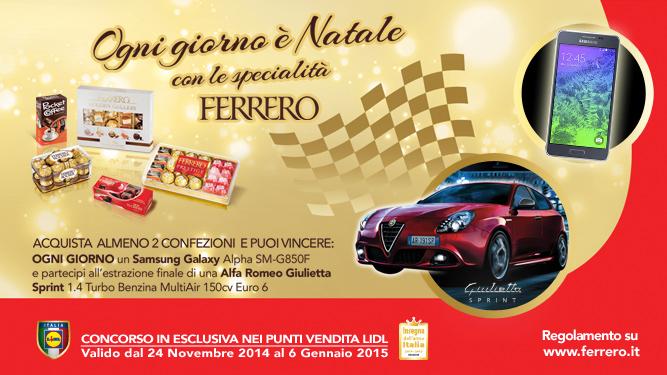 Ogni giorno è Natale con Ferrero