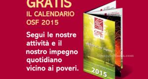 Opera San Francesco (OSF) calendario 2015 gratis