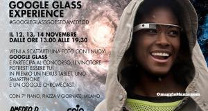Testa i Google Glass e vinci Nexus o Google Chromecast